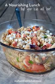 a sweet and savory einkorn pasta salad my humble kitchen