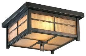 Outdoor Lighting Ceiling Light Craftsman Flush Mount Ceiling Light