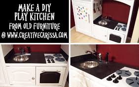 play kitchen from furniture how to make a diy play kitchen part 1 selection and prep of a