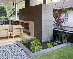 contemporary water garden design concept ideas landscaping