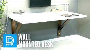 build wall mounted drop leaf table diy wall mounted drop leaf table table montanagun club