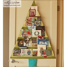 christmas card holder christmas card trees sewing pattern by indygo junction