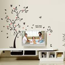 family tree wall decal sticker large vinyl photo picture frame creative photo tree wall decal sticker removable mural pvc home art decor diy