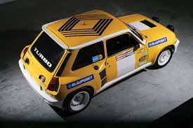 renault 5 turbo group b 1980 renault 5 turbo
