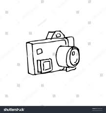 quirky ink drawing camera stock vector 46837555 shutterstock