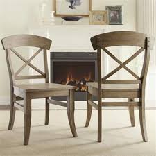 dining room end chairs regan x back dining chair i riverside furniture