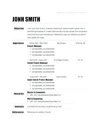 resume template docs docs functional resume template business template