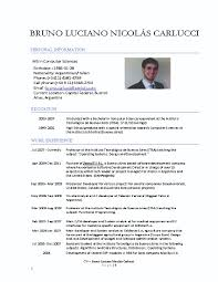 resume format for computer science resume for study