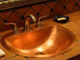 bathrooms mesmerizing copper bathroom sinks for unclog bathroom