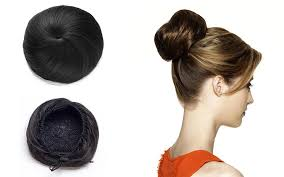 hair buns onedor synthetic hair bun extension donut chignon