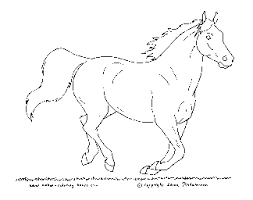 preschool coloring sheets horse coloring pagesfree horse coloring
