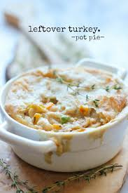 leftover thanksgiving turkey pot pie damn delicious