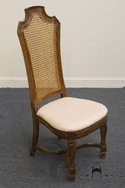 thomasville ceremony collection cane back dining side chair 11921