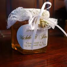 honey favors amberfield honey farm honey wedding favors