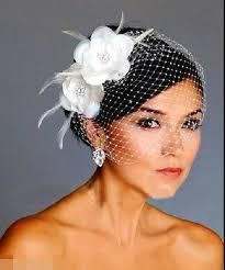 bridal accessories nyc birdcage veils white flowers feather birdcage veil bridal wedding