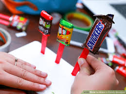 candy bar bouquet 3 easy ways to make a candy bouquet wikihow