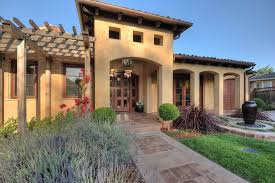 French Country Exterior Doors - office french country exterior mediterranean with topiary arched