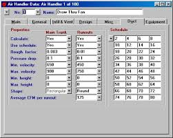 Hvac Load Calculation Spreadsheet by Elite Software Chvac
