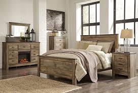 Wooden Wall Bedroom Barnwood Bedroom Set Rustic Furniture Sets Natural Wood Dit Loft