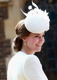 princess charlotte u0027s christening attended by kate middleton and