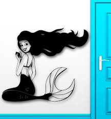 Mermaid Decorations For Home Compare Prices On Mermaid Wall Decals Online Shopping Buy Low