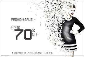designer fashion sale customizable design templates for clothing sale postermywall