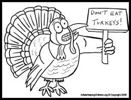 thanksgiving coloring pages printouts printables turkey