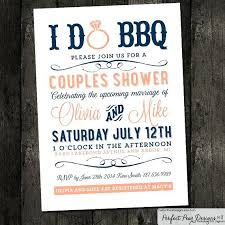 couples shower idea couples bbq wedding shower invitations for i do wedding