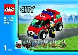Lego Headquarters Lego Fire Headquarters Instructions 7945 City Police Rescue