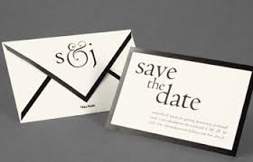 vera wang chic wedding invitations and save the date cards by