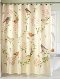 Bird Shower Curtain Rings Floral Shower Curtain Hooks Foter
