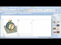Creating Business Card Create Business Cards With Ms Word 2007 Youtube