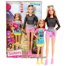 mattel year 2015 barbie sisters series 2 pk 12
