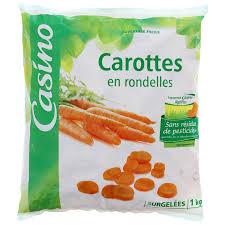 cuisiner des carottes en rondelles carottes en rondelles sans résidus de pesticides 1kg magasin