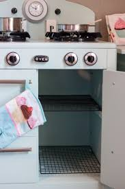 Kids Kitchen Ideas Imperfectly Imaginable Pottery Barn Inspired Retro Kids Kitchen