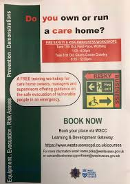 Fire Evacuation Plan For Care Homes by Care U0026businesssupport Wscc Cabs Twitter