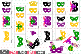 mardi gras photo booth props mask mardi gras masquerade party photo booth silhouette