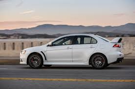 white mitsubishi lancer last 2015 mitsubishi lancer evolution final edition sells for