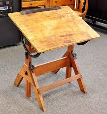 vintage wood drafting table thrifty wood drafting tables also drafting table an alternative plus