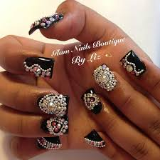 307 best nail designs i luv images on pinterest bling nails