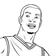 7 images of kevin durant basketball shoes coloring pages