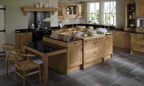 cornell oak traditional wood kitchen