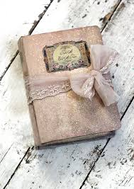 vintage guest book fairytale wedding guest book blush pink wedding scrapbook