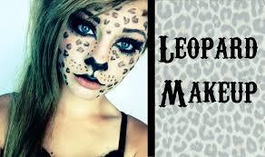 halloween leopard makeup tutorial cheetah cat halloween makeup images