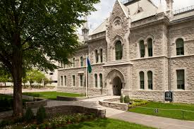 Victorian Style Houses Heritage Building And Ottawa City Hall City Of Ottawa