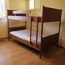 REDUCED Modern Danish Teak Westnofa Norway S Twin Bunk Beds - Ebay bunk beds for kids
