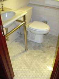 Carrara Marble Floor Tile Creative Decoration Marble Hexagon Floor Tile Impressive Design