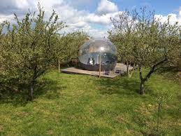 chambres bulles les nuits insolites de madine les bulles lorraine tourisme