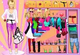 hanna montana dressup dress up games for girls