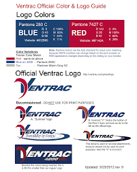 ventrac logos u0026 color guide